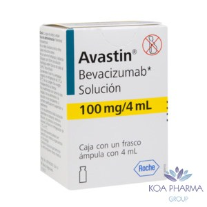 AVASTIN 100MG 4ML CON 1 FCO AMP