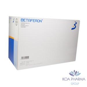 BETAFERON 1B 8000000 UI CON 15 AMPS
