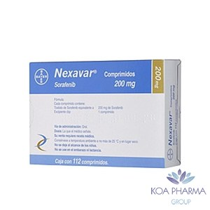 NEXAVAR 200MG CON 112 COMP