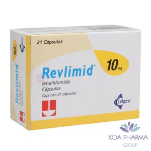 REVLIMID 10 MG CON 21 CAPS