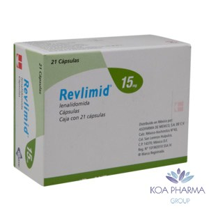 REVLIMID 15MG CON 21 CAPS