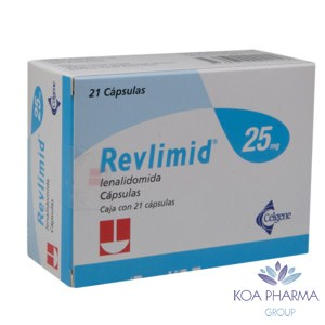 REVLIMID 25 MG CON 21 CAPS