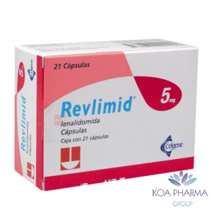 REVLIMID 5 MG CON 21 CAPS