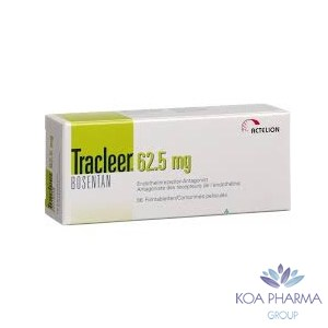 TRACCLEER 62.5 MG CON 60 TABS
