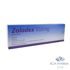 ZOLADEX 10.8 MG CON 1 IMPL JER PRELL