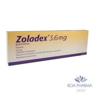 ZOLADEX 3.6MG CON 1 IMPL JER PRELL