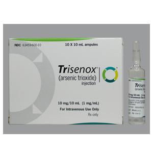 TRISENOX 1 MG C 10 AMP